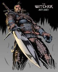 The Witcher art Jam
