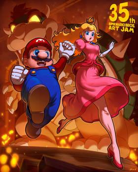 Mario Bros 35th anniversary Jam