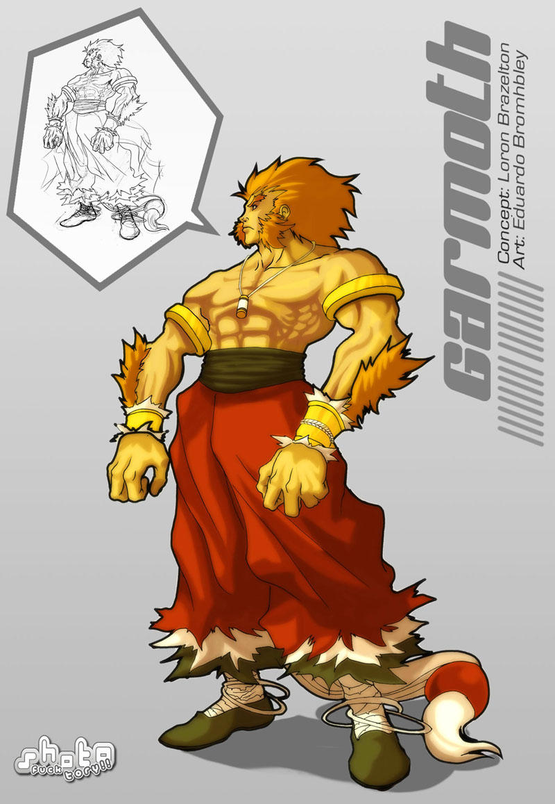 Garmonth desig Character by Brolo