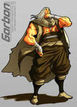 GARBON design character.