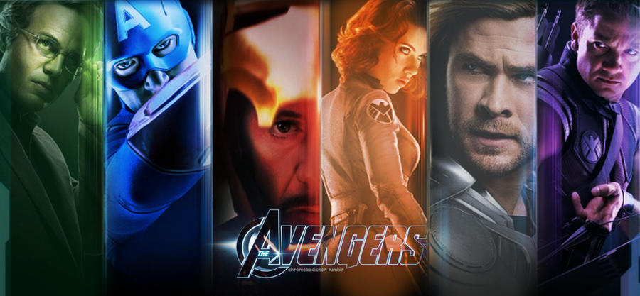 The Avengers Wallpaper by VibrantlyColorblind