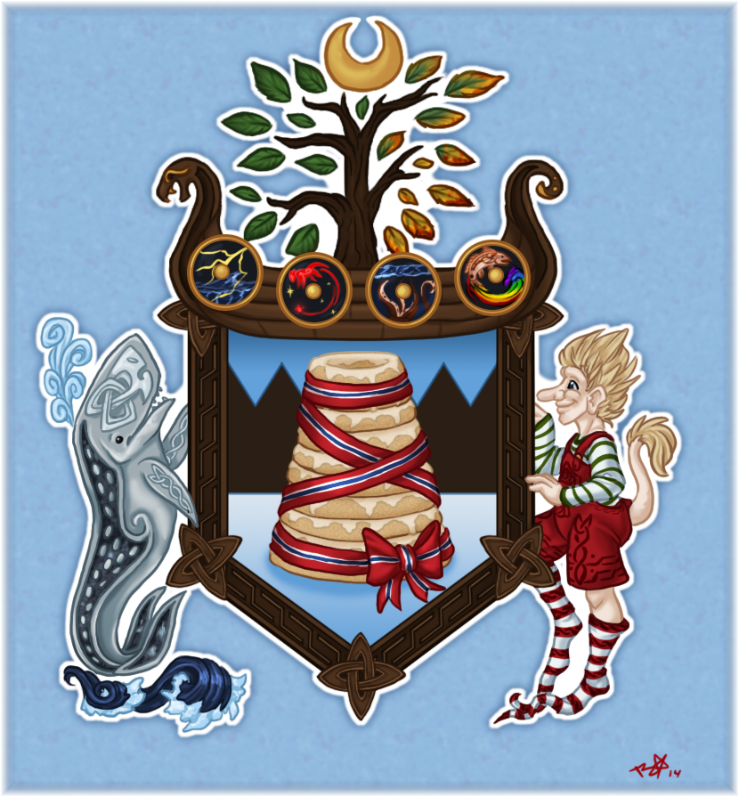 Christmas Trolls 2014 - The Family Crest by mindsend