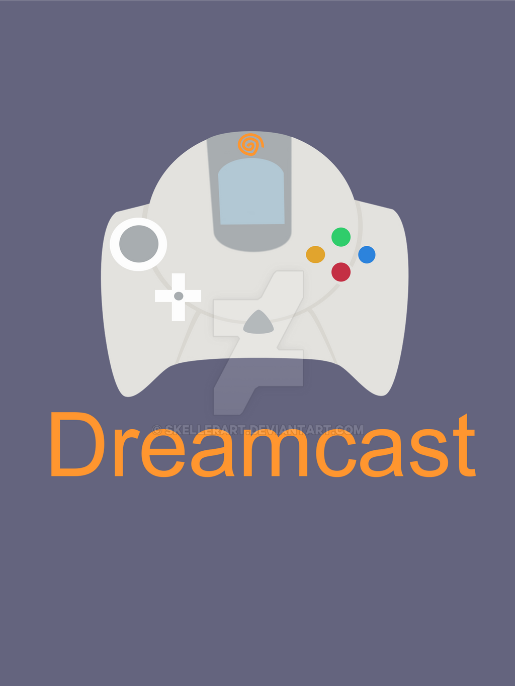 Dreamcast by SkellerArt on DeviantArt