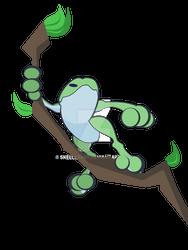 Tree Frog by SkellerArt