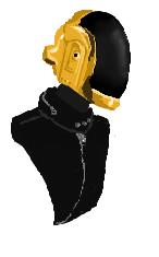 Daft Punk 2 by FluffyAlbinoBacon