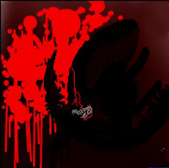 Bloodshower by FluffyAlbinoBacon