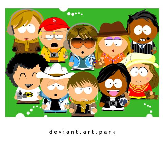 DEVIANTART PARK by nanath