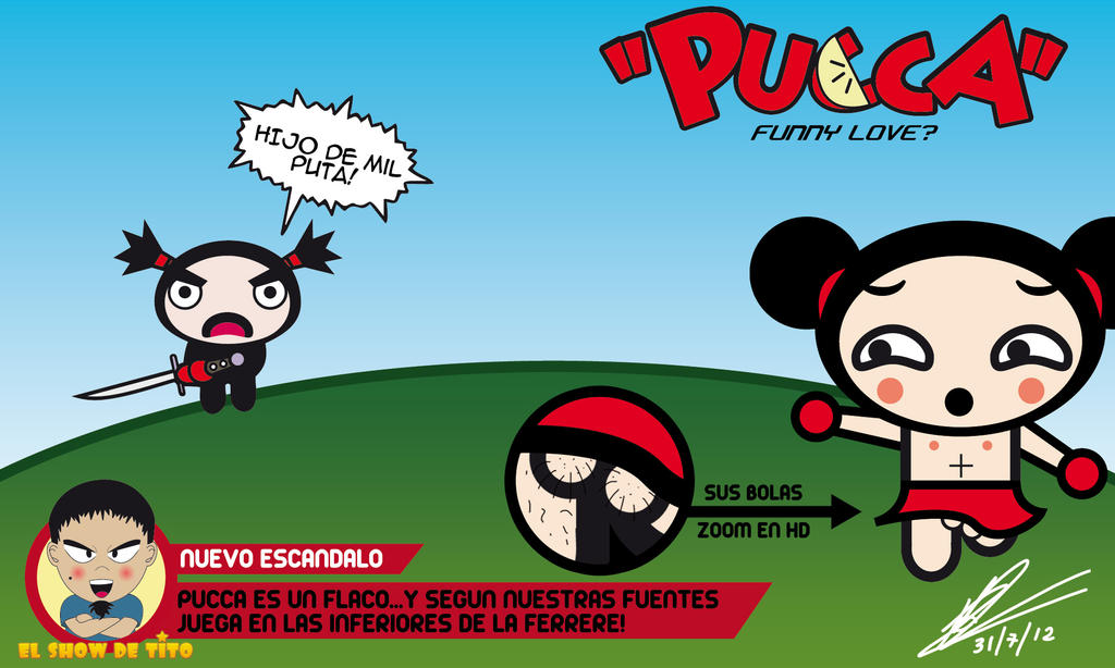 Pucca Funny Love Desktop Wallpaper : PUccA FUNNY LOVE? by Silversava2 on DeviantArt