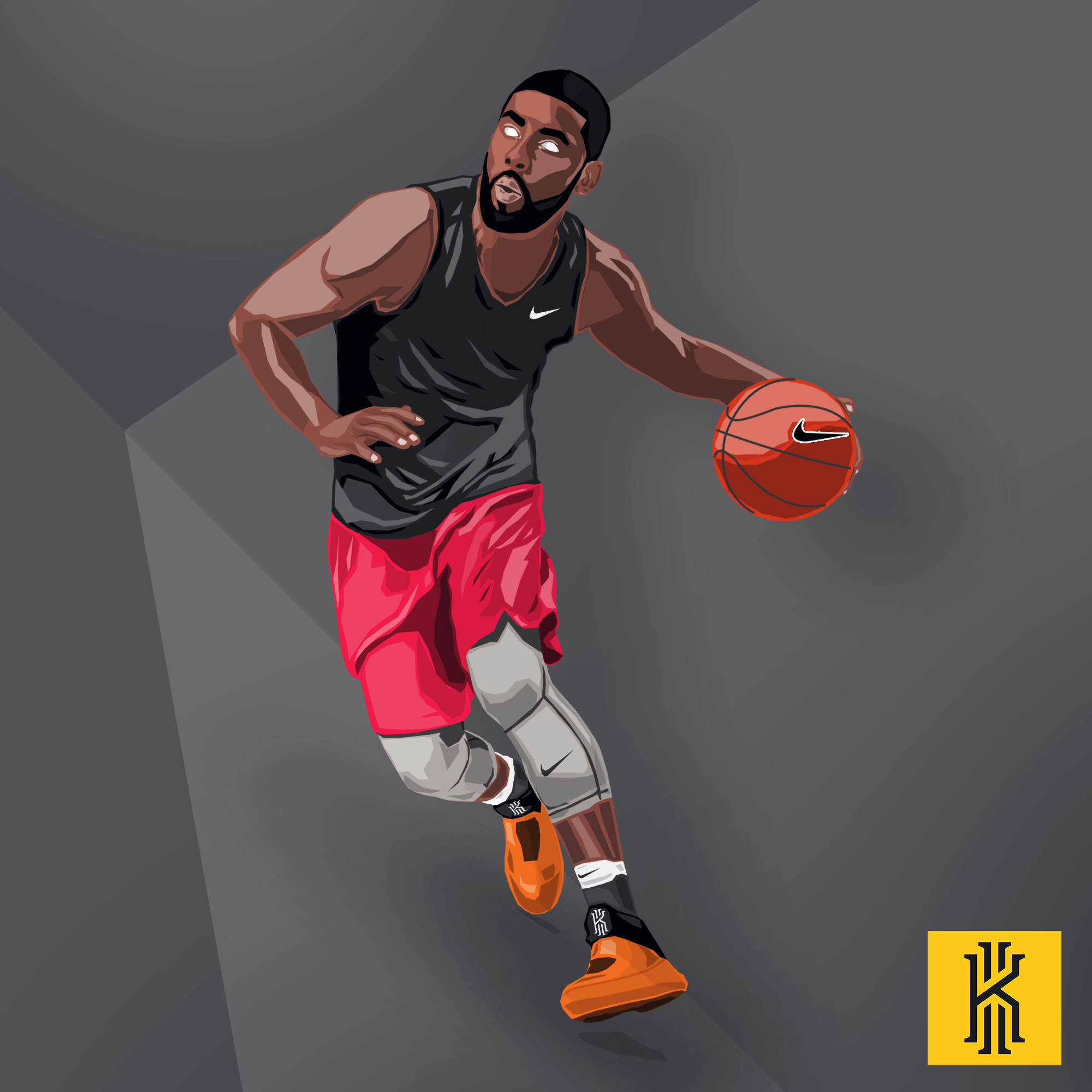 Kyrie Irving Wallpaper: Kyrie By Ehnony On DeviantArt