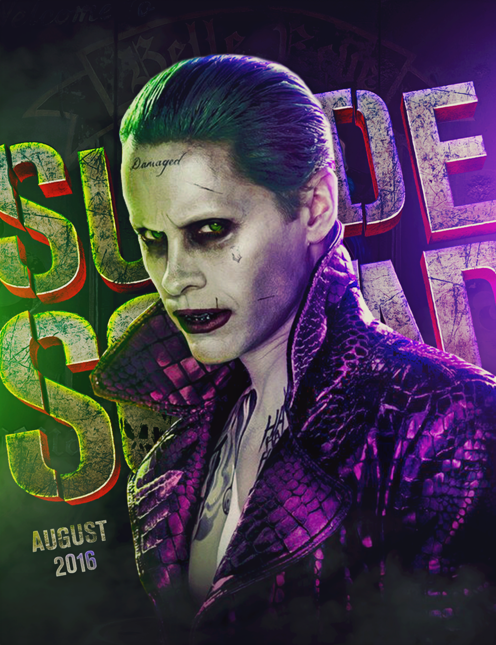 new joker suicide squad wallpaper - photo #35