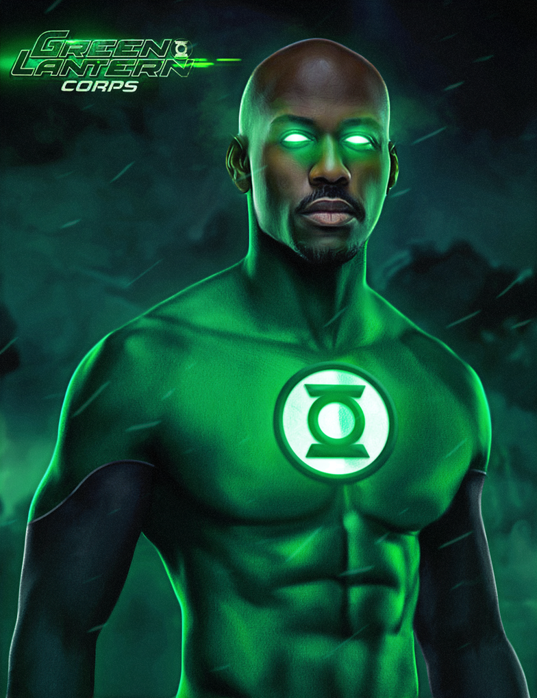 John Stewart Green Lantern by ehnony