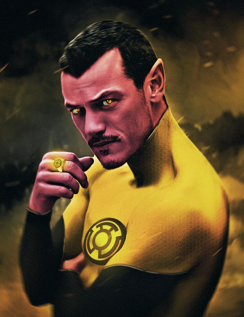 Sinestro by ehnony