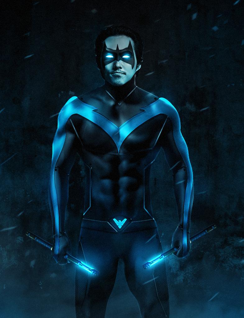 Nightwing Movie (Steven Yeun) by ehnony