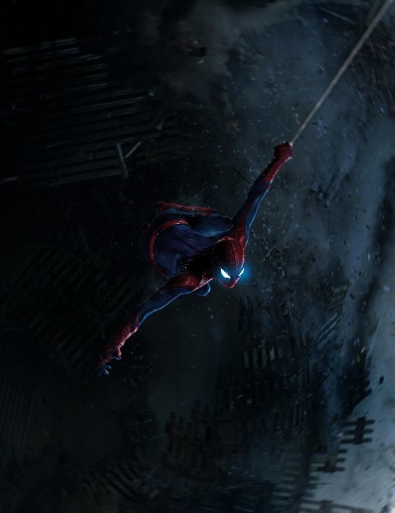 Amazing Spiderman by ehnony