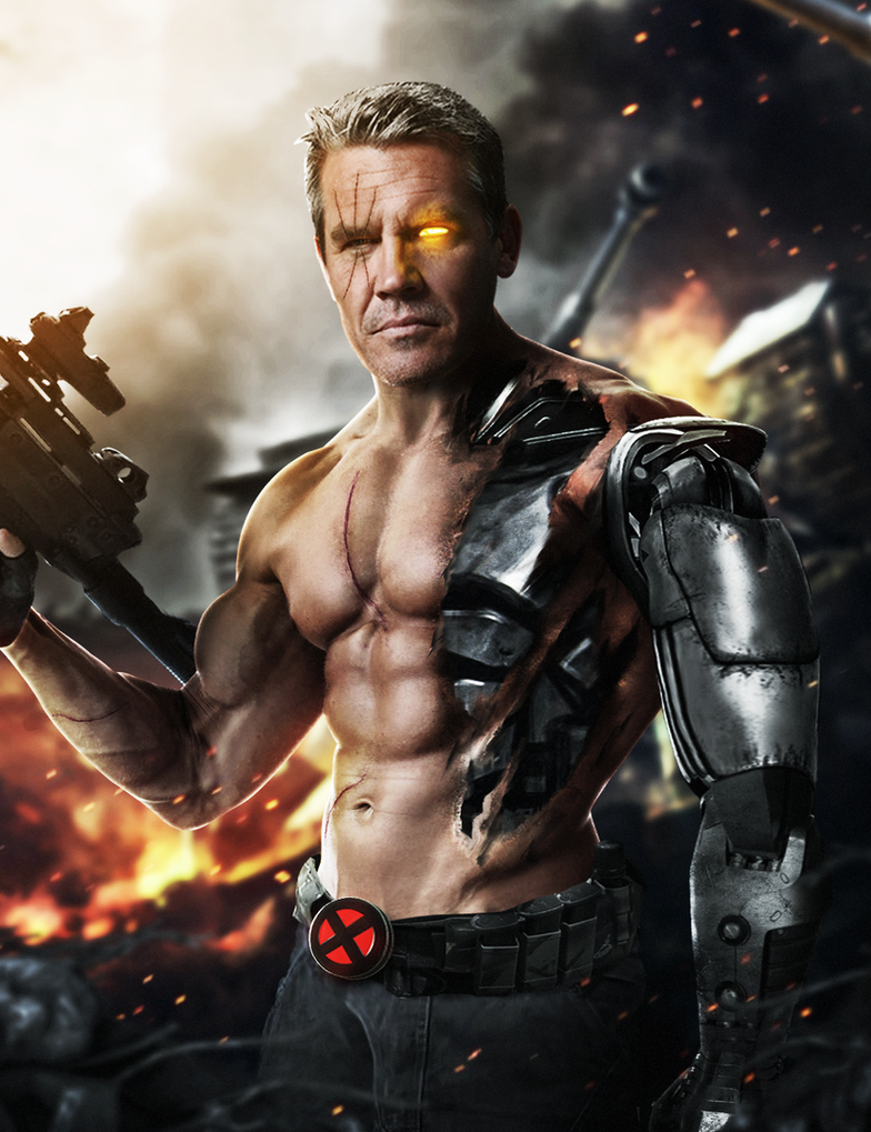 Josh Brolin Cable Deadpool 2 by ehnony