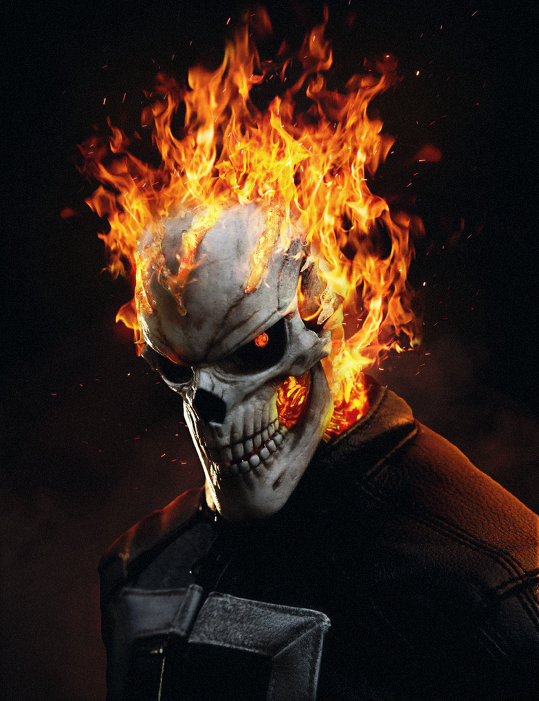 Agents of Shield Ghost Rider by ehnony