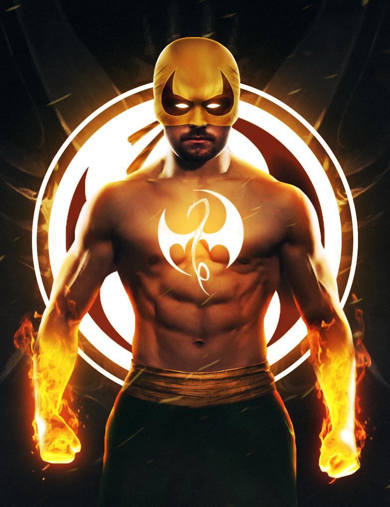 Marvel Iron Fist by ehnony