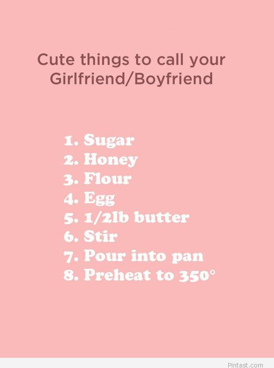 To boyfriend say what your Freaky things