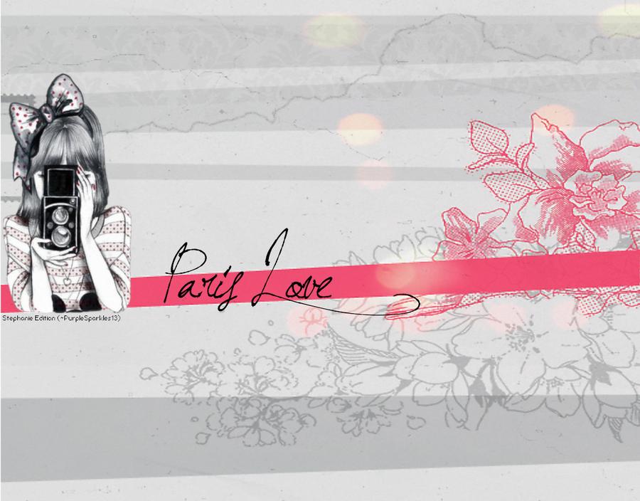 Paris Love Wallpaper By NutellaaPurplee