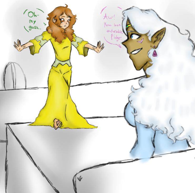 (VLD REQUEST) A Bet Lost by KrampusChild