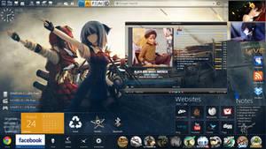 My desktop by fazie69