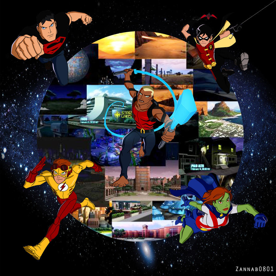 young justice wallpaper by zannab0801 on deviantart