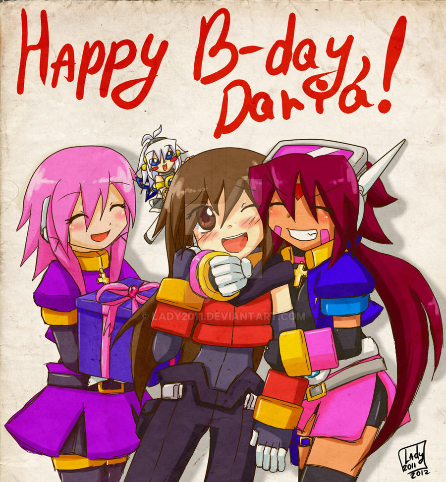 HAPPY B-DAY, DARIA! by Lady2011
