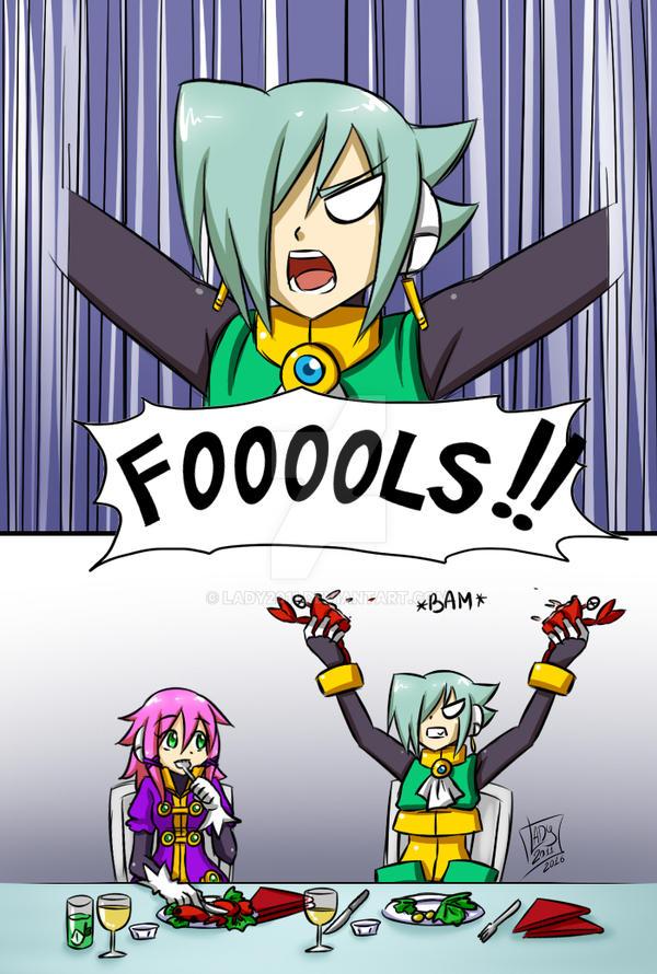 FOOOOLS!!! by Lady2011