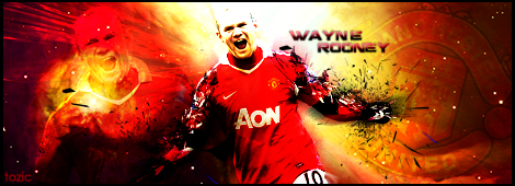 MAN UTD Rooney Signature by tozic
