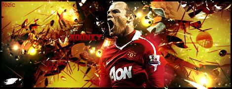 MAN UTD Rooney Signature by tozic