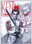 Ken Takakura by WolfMagnum