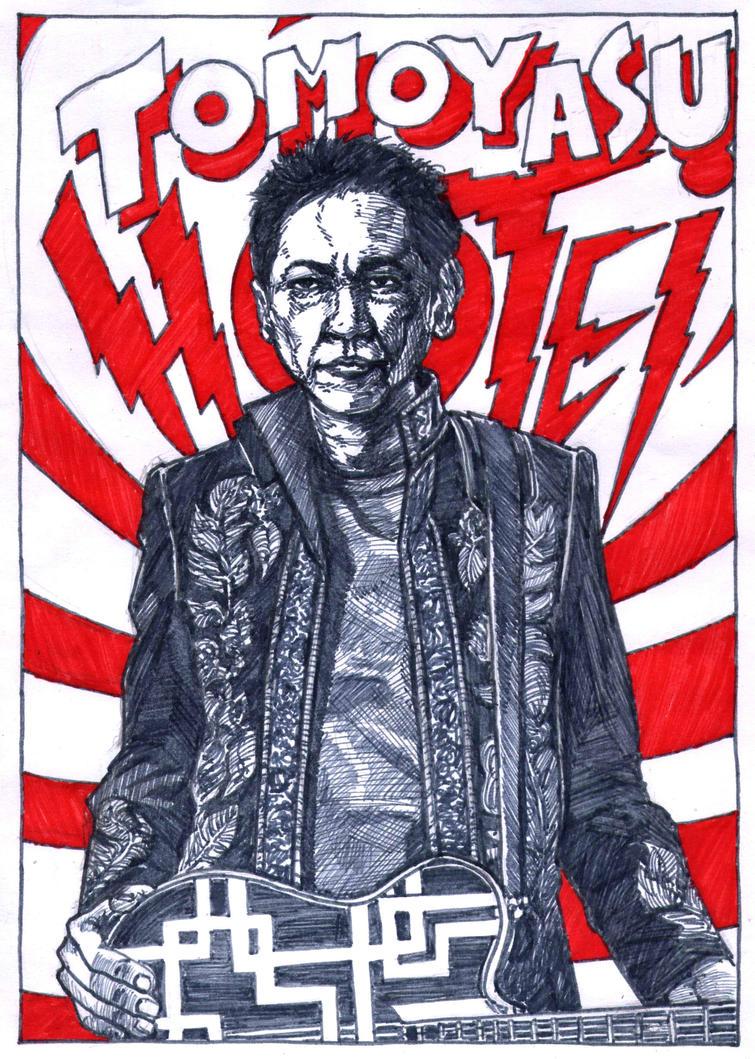 Tomoyasu Hotei by WolfMagnum