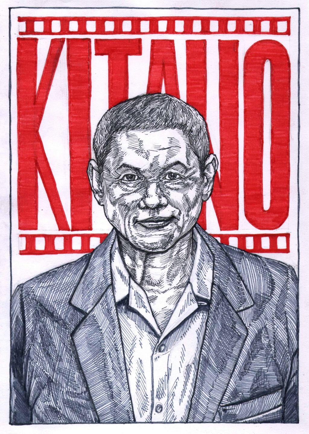 Takeshi Kitano by WolfMagnum