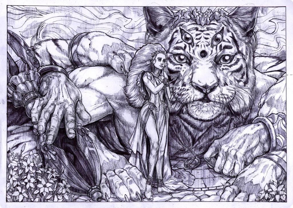 Edeliya And Vammoddhi by WolfMagnum