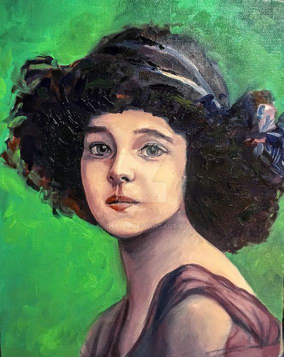 Vintage girl by elidee123