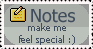 Notes Stamp XD by AmberSea
