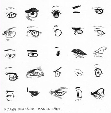 Manga eyes tutorial by severus986689