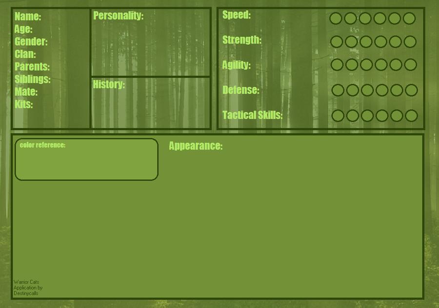 Clan Bio Format Warrior_cat_application_by_123destinycalls-d4kmacn