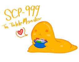 SCP-Kawaii Blobby Thingy by redrumTerror