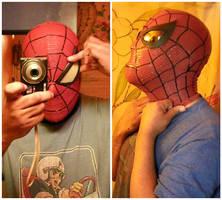 Romita Spidey mask