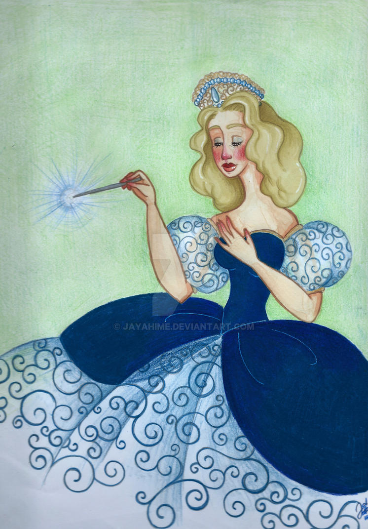 Glinda, the Good Witch of the South by JayaHime