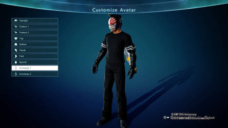 Jump Force Character- Male by DJHermo