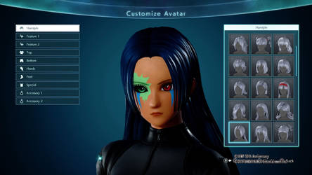 Jump Force Character- Female Face by DJHermo