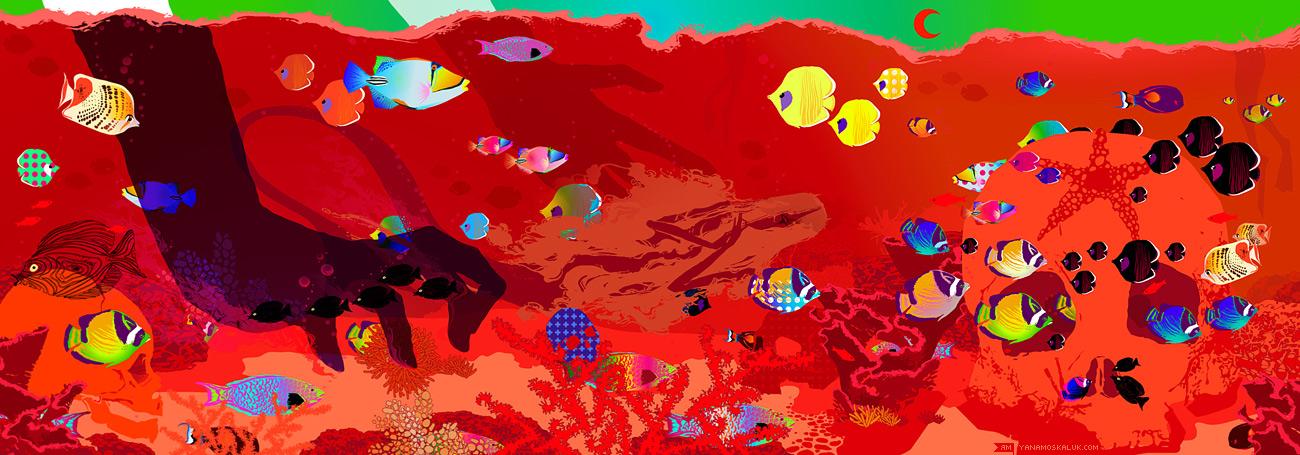 Red sea by ya-na