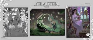 [Open][YCH Auction] Theme -Plants-
