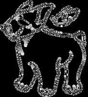 . bull terrier base | f2u by wolvrns