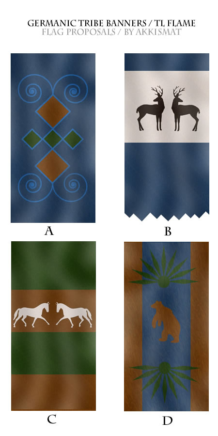 Althis - Germanic Banners by Akkismat