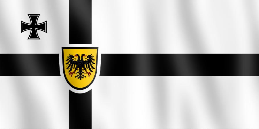 Alternate Flag - German Empire by Akkismat