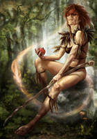 Fox Shaman by artoftas