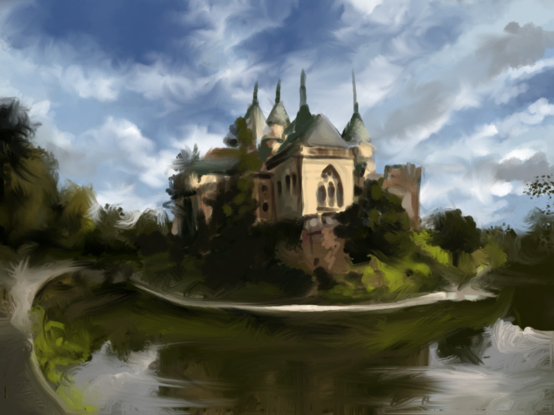 Castle SP by artoftas